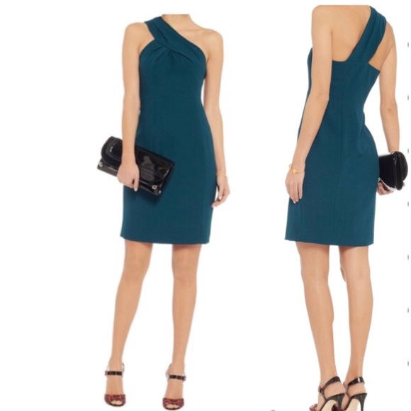 Tory Burch Dresses & Skirts - ❣️NEW❣️TORY BURCH 'Ashlee' One Shoulder Teal Dress